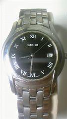 GUCCImen's腕時計電池交換済み美品