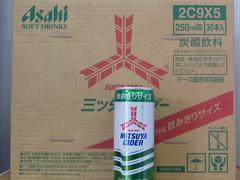 アサヒ 三ツ矢サイダー 250ml缶 30本入 3ケース