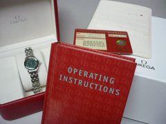 オメガ   美品  スーマシター120   レディース時計
