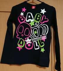 BABYDOLL☆新品同様☆春物のロンT☆size140