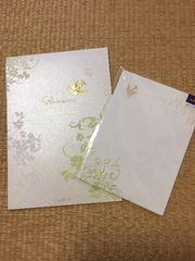 結婚式:ウェディング:手紙セット:レターパッド:封筒