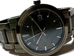 良品 1スタ★バーバリー/BURBERRY定価9万円 メンズ腕時計