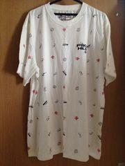送料無料 メンズ 大きいサイズ Tシャツ 半袖 4L PIKO