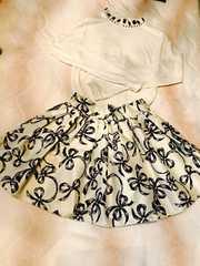 dazzlinダズリンリボンスカート