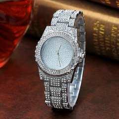 ■ゴージャス シルバー腕時計 新品 送料無料