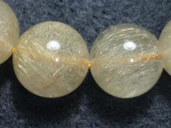 【天然石】☆金針ルチル☆10�o玉☆ブレスレット☆数珠☆