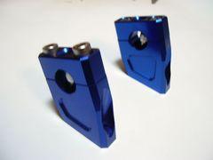 (93)GSX250EザリRG250アップハンセットバックホルダーブルー