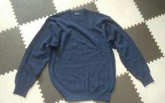 ネイビー Mac Evans Mサイズ 美品 セーター