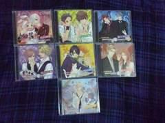 アニメイト限定盤 BROTHERS CONFLICT キャラクターCD 全7巻 ブラコン