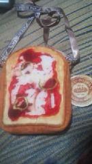 まるでパンみたいな【ショルダーポーチ】ピザトースト