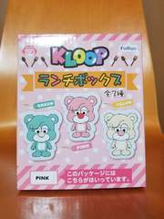 KLOOP 倖田來未 ランチボックス ピンク クループ ゴムバンド付