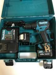 makita・充電式振動ドリル10.8V・HP332D・美品・中古