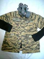 ◆W-TAPS(ダブルタップス)/半袖タイガーカモジャケット/XL/FIVE-O好きに!