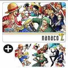 セブンイレブン nanacoカード ワンピース