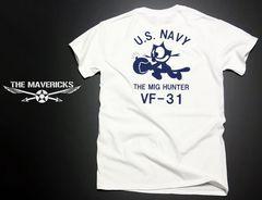 米海軍フェリックス猫Tシャツ・白紺XL・新品/ミリタリーNAVY