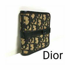 正規品 Dior ディオール トロッター レザー 二つ折り財布