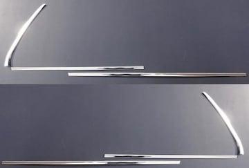 クロームメッキ鏡面ウィンドフレーム6Pセット アクア NHP10 ウェザーストリップ