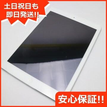 ●良品中古●iPad Air Wi-Fi 32GB シルバー●
