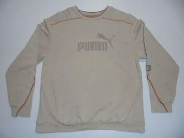 プーマトレーナースウェットシャツ肩袖口両脇はめ込み式ガゼット