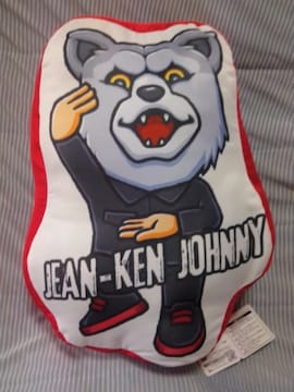 ■MAN WITH A MISSION■BIGぬいぐるみ★JEAN-KEN JOHNNY■