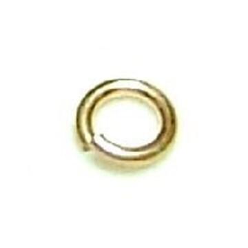 ゴールドフィルド 丸カン 5個■0.64×3.8■K14GF