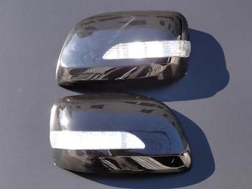 交換式LEDミラーカバー 202ブラック ランクル200系