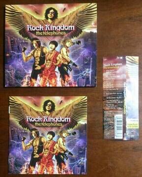 (CD)the telephones/ザテレフォンズ☆Rock Kingdom[初回盤]★帯付き♪
