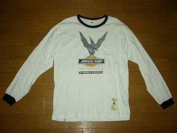 SVG NEIGHBORHOODネイバーフッド ロンTシャツ3白黒トリム