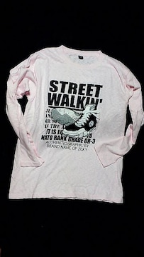 ストリート系☆3D walkin☆PINK