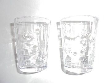 洋服の青山 ハローキティ 清涼グラス(2個入り) ほぼ未使用品
