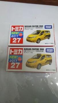 NO.27 NISSAN  NV200   TAXI  初回特別仕様・新車シール