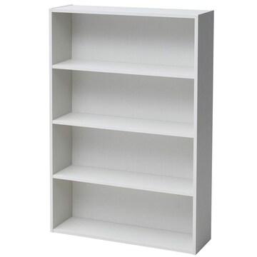 文庫本収納ラック 本棚カラーボックス ホワイトウォッシュ