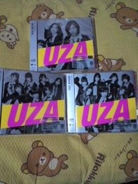 送込〓未視聴〓AKB48〓『UZA』初回盤A&K&B〓3枚セット