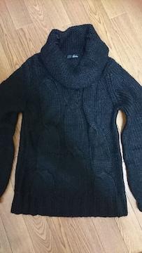 新品   モヘア ニット セーター 羊毛 ザックリニット