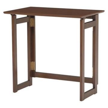 折りたたみテーブル(ブラウン) MT-7680BR
