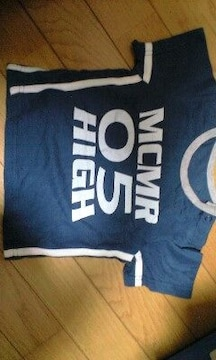 紺のTシャツ(80�a)