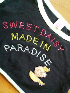 新品未使用デイジーラバーズキラキラストーン半袖Tシャツ120