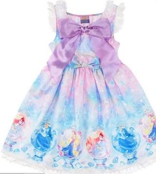 Fairy Season柄ワンピース  ディズニープリンセス☆新品