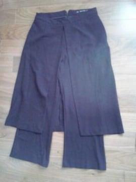 送料無料☆ZARA スカートパンツ ドッキング