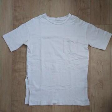 gu スリットビッグTシャツ S