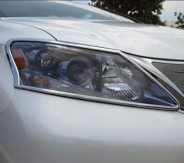 レクサス メッキヘッドライトリング ヘッドランプ HS250h