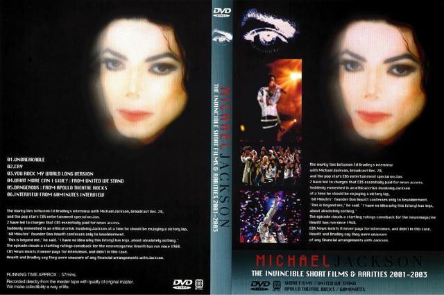 マイケルジャクソンINVINCIBLE & RARITIES  < タレントグッズの