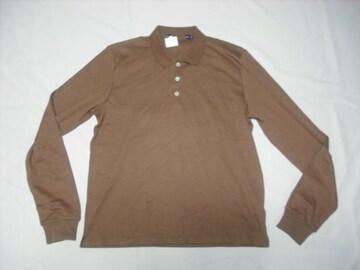 7 女 ラルフローレン 茶 ポロシャツ L