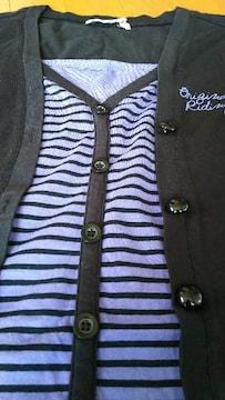 150�p 女の子 カットソー 長袖 美品  ブラック
