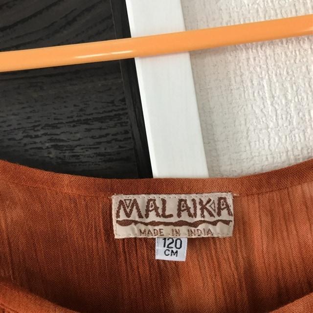 マライカmalaikaマキシ丈ワンピース着丈126身幅40fサイズ美品 < ブランドの