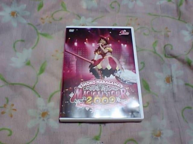 【DVD】中川翔子 マジカルツアー2009  < タレントグッズの