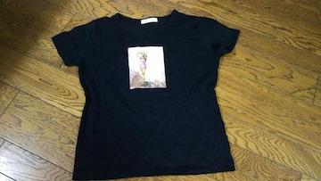 Kiss&Be  黒 Tシャツ 美品 Mサイズ