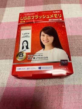 ★武井咲/USBフラッシュメモリ 8GB