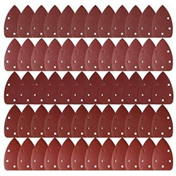 LEOBRO サンドペーパー 紙やすり ダブルアクション サンディング