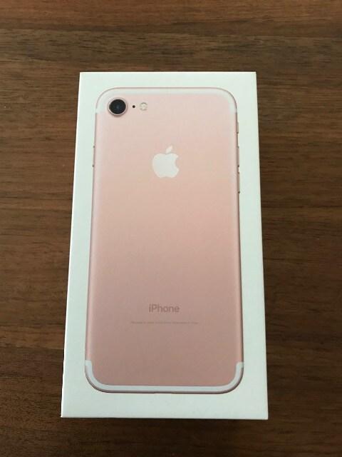 iPhone7 32G ピンク Apple 空箱